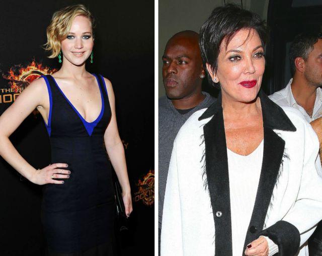 ¿Por qué Jennifer Lawrence terminó en la cama con Kris Jenner?