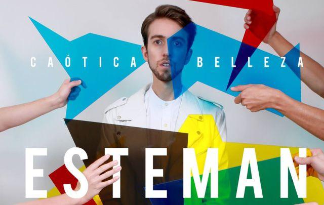 Esteman lanza su nuevo álbum 'Caótica belleza'