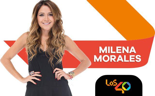 Milena Morales en El Morning de 40