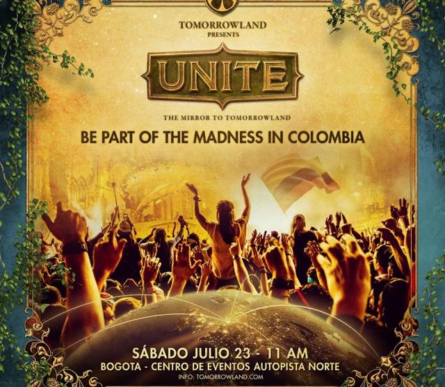 Llega la experiencia incomparable de Tomorrowland a Bogotá
