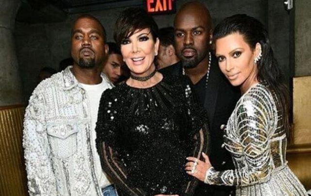Kris Jenner sacó de su casa a Kanye West y a Kim Kardashian