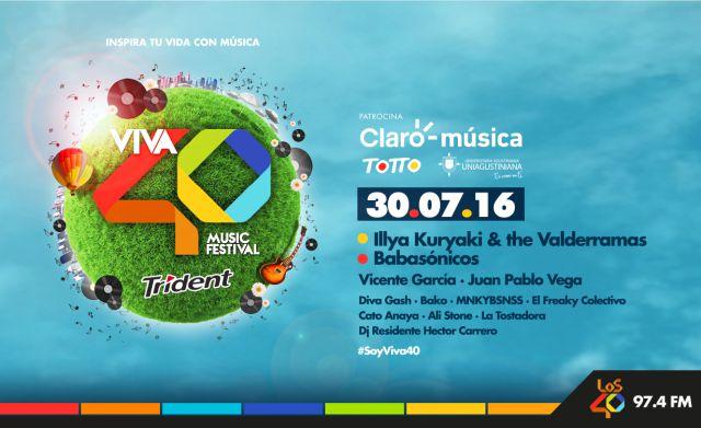 Totto te lleva al Viva 40 Music Fest