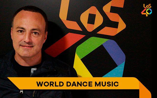 Hoy en el World Dance Music con Luis López