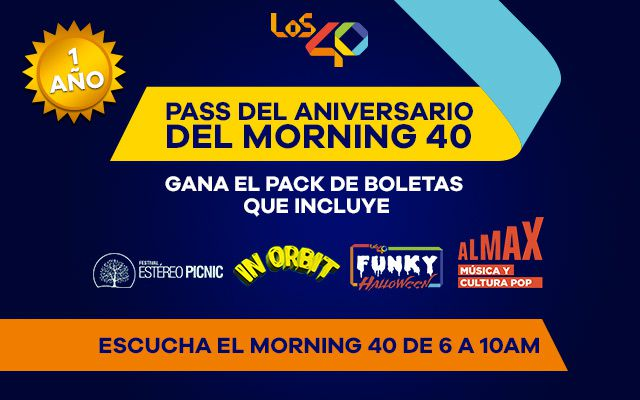 Gana el Pass de Aniversario del Morning 40