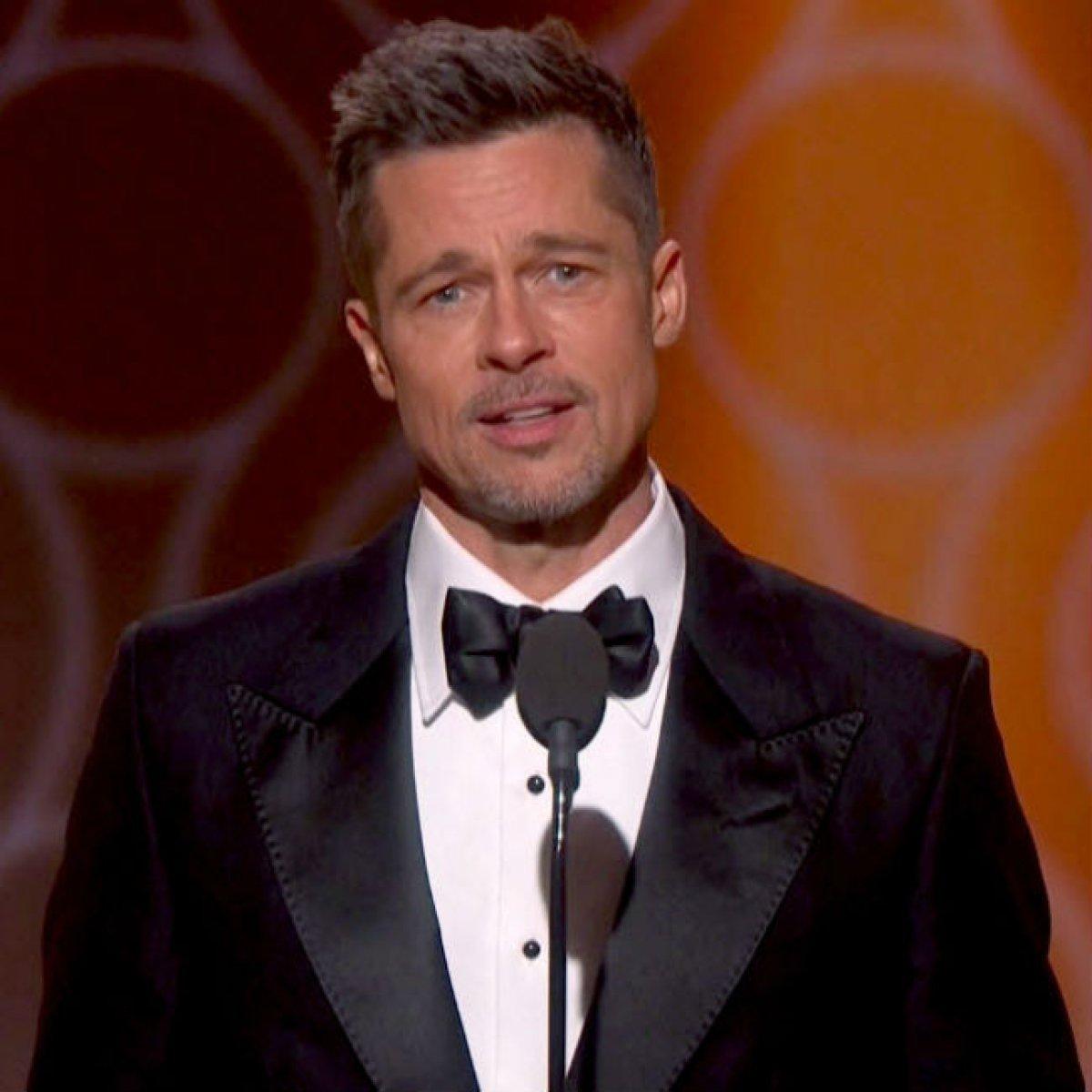 Brad Pitt reaparece por sorpresa en los Globos de Oro