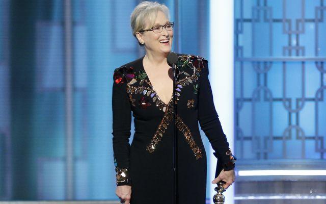 Meryl Streep arremete contra Donald Trump en los Globos de Oro