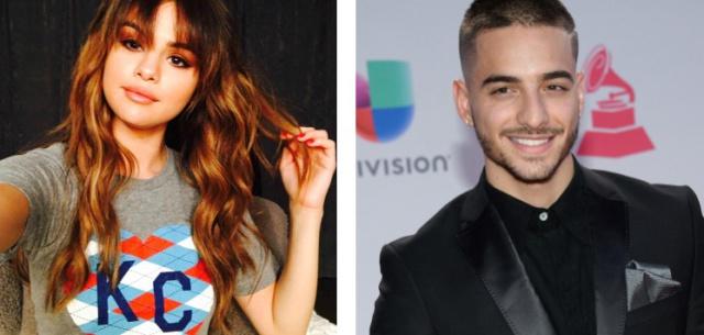 Maluma y Selena Gomez coquetean en Instagram