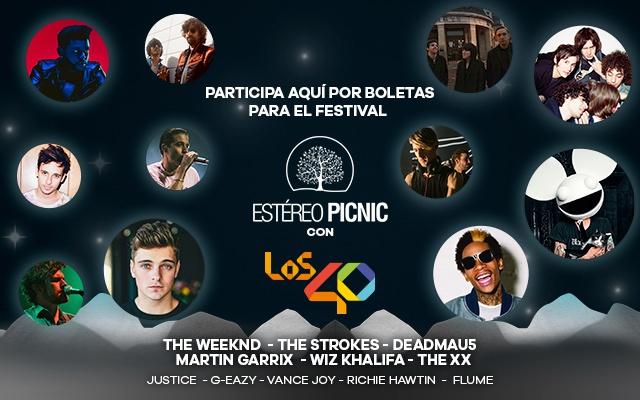 Inscríbete y gana entradas para el Festival Estéreo Picnic