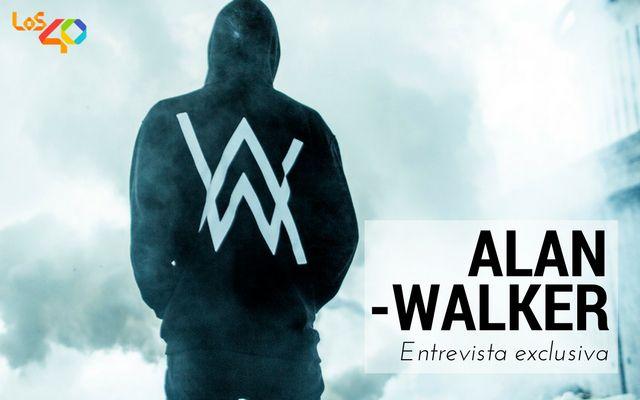 Alan Walker en entrevista para LOS40