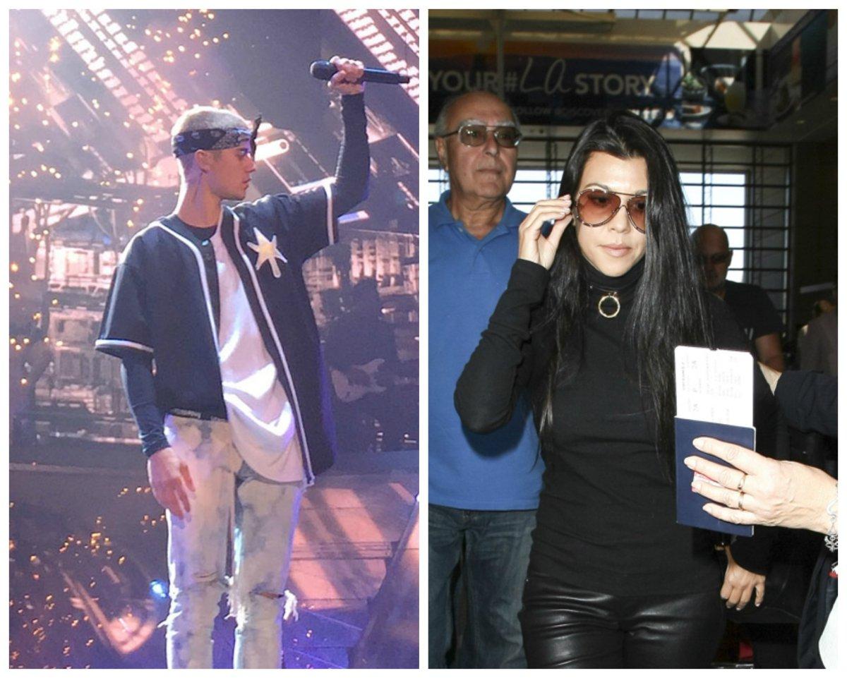 Justin Bieber retomó su relación con Kourtney Kardashian y estas fotos lo demuestran