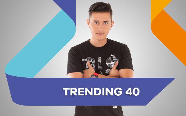 #Trending40 Juan Camilo Ortíz nos actualiza en las noticias de entretenimiento