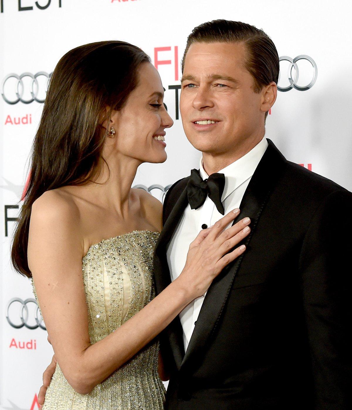 Las terribles marcas que tiene Angelina Jolie por culpa de Brad Pitt