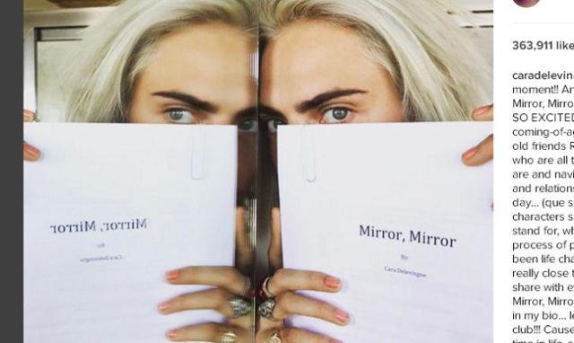 Cara Delevingne anuncia la publicación de su primera novela