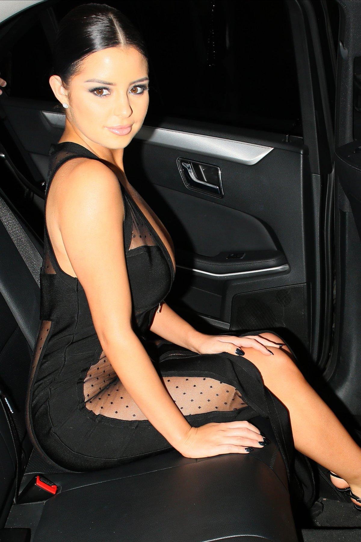 Demi Rose, la 'doble' de Selena Gomez sorprende con estas fotos