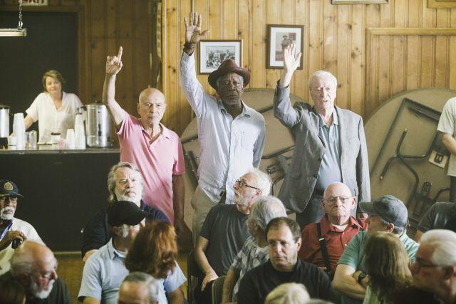 'Un golpe con estilo' con Morgan Freeman, Michael Caine y Alan Arkin