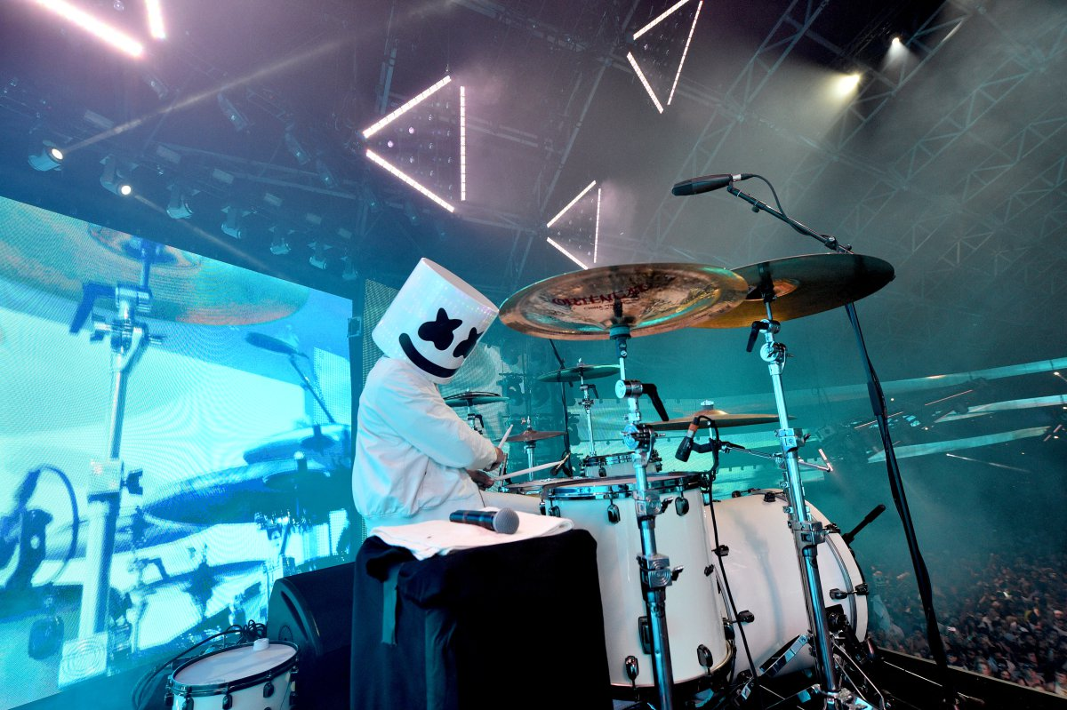 Marshmello prendió la fiesta en Coachella 2017