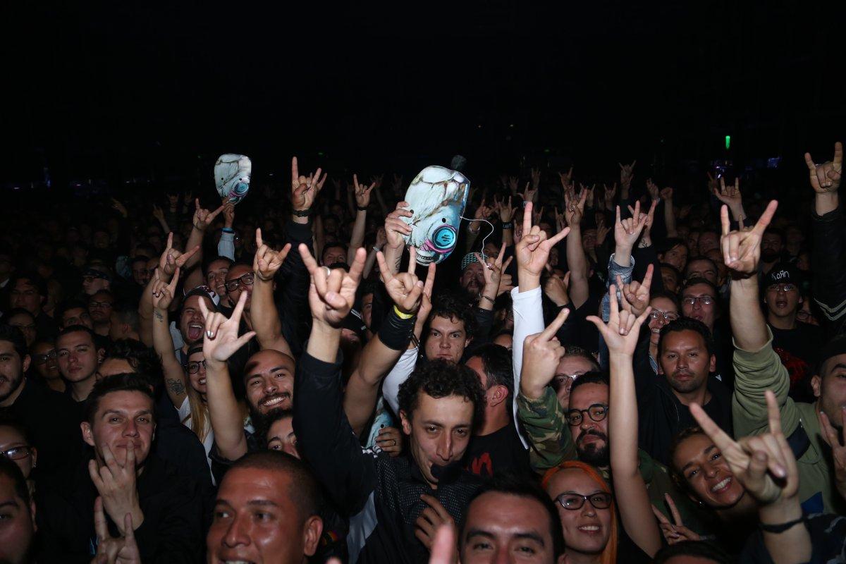 Los mejores momentos de Korn en su concierto en Bogotá