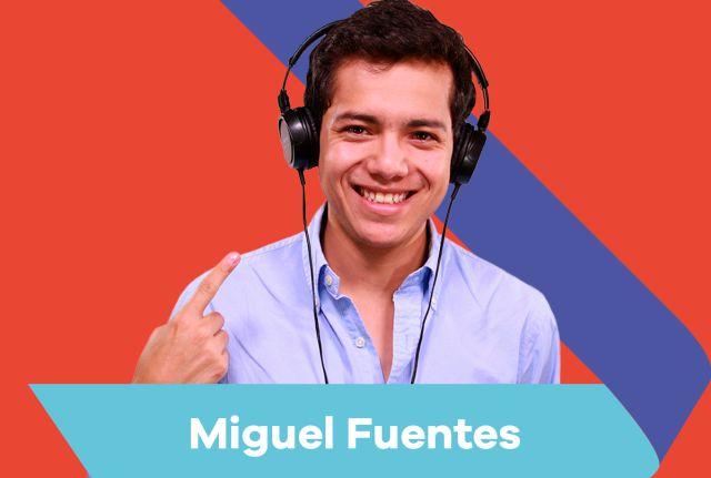 Miguel Fuentes: Lo puedes escuchar todas las tardes de 2 pm a 5 pm