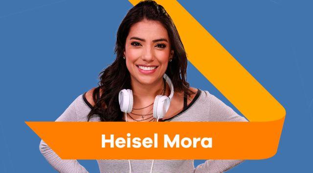 Heisel Mora hace parte del equipo de LOS40