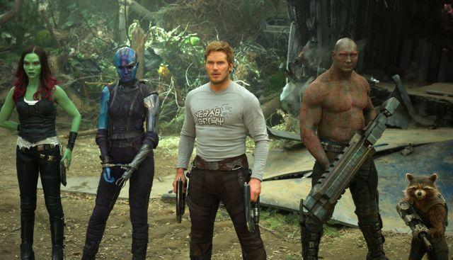 """""""Guardianes de la Galaxia Vol. 2"""", la más taquillera del fin de semana"""