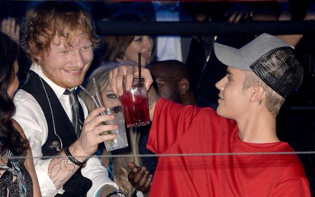 Ed Sheeran se subió al Carpool Karaoke de James Corden