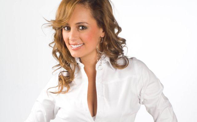 La divertida caída de Milena López en televisión nacional