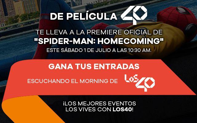 'Spider-man': De regreso a casa, vive la premiere con LOS40
