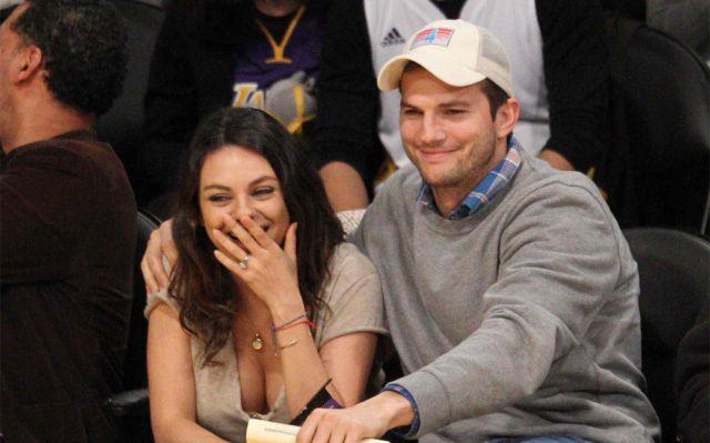 Ashton Kutcher solía hacer los deberes de Mila Kunis cuando sólo eran amigos