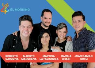 La talentosa Martina La Peligrosa estará por tres meses con nosotros. Escúchala en El Morning de LOS40 de 6:00 am a 10:00 am