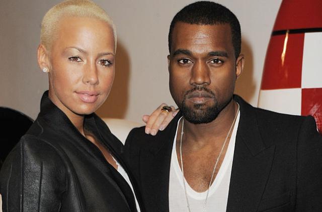Kanye West acusado de hacerle bullying a Amber Rose