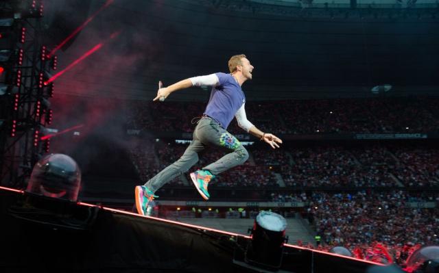 El homenaje de Coldplay a Chester Bennigton en su gira por Estados Unidos.