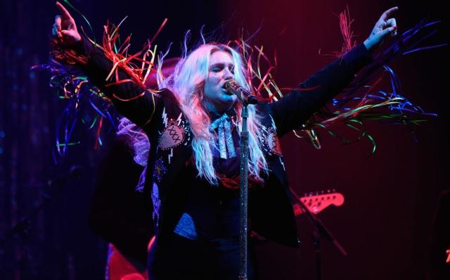 Kesha quiere romper el mundo de la música