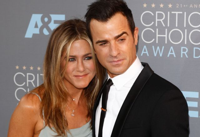 Jennnifer Aniston y Justin Theroux podrían haber coincidido en 'Friends'