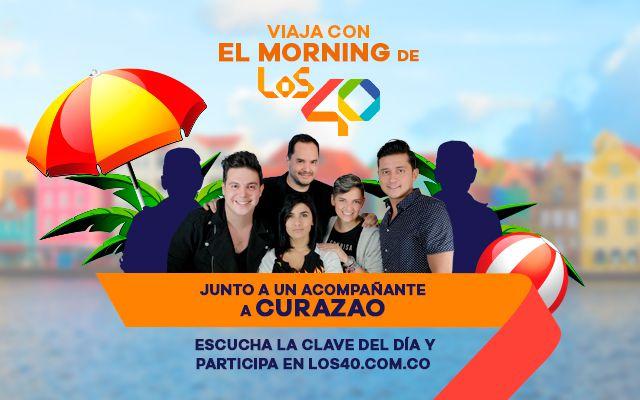 Viaja con El Morning de LOS40 a Curazao