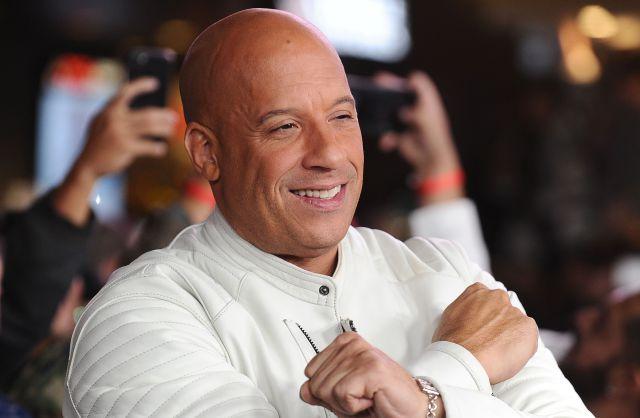 Vin Diesel se dejó contagiar de