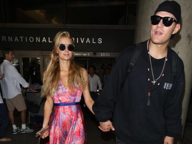Paris Hilton y su novio se mudaron juntos tras su primera cita