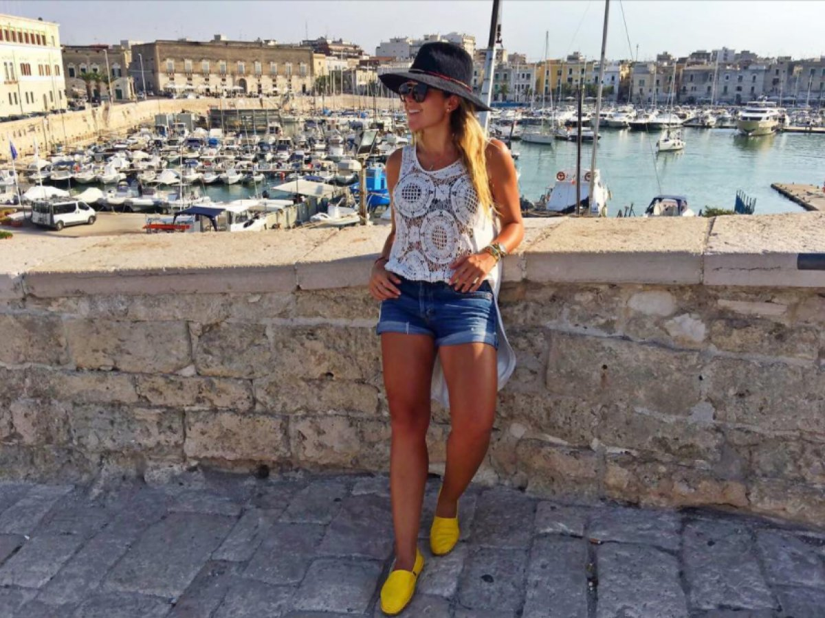 Así va el viaje de Milena Morales por Europa