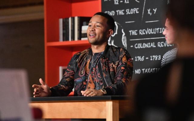 John Legend será el productor de un reality show musical de Netflix