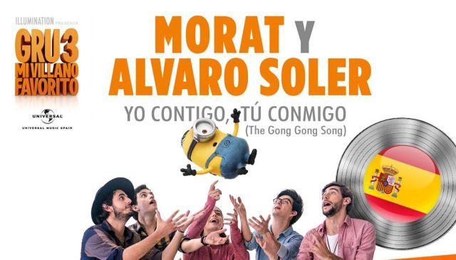 Morat y Álvaro Soler son Disco de platino en España por
