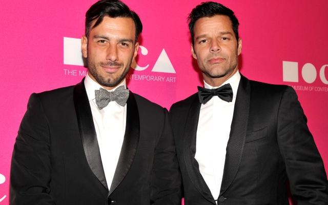 Ricky Martin al parecer ya tiene lugar para su boda