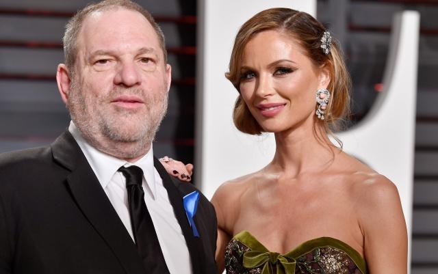 Harvey Weinstein animó a su esposa a anunciar su separación
