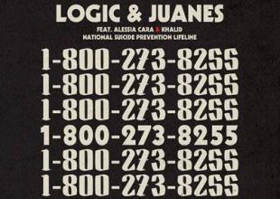 """Juanes se une a Logic en una nueva versión de """"1-800-273-8255"""""""