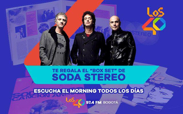 El Box Set de lujo de Soda Stereo será tuyo escuchando LOS40