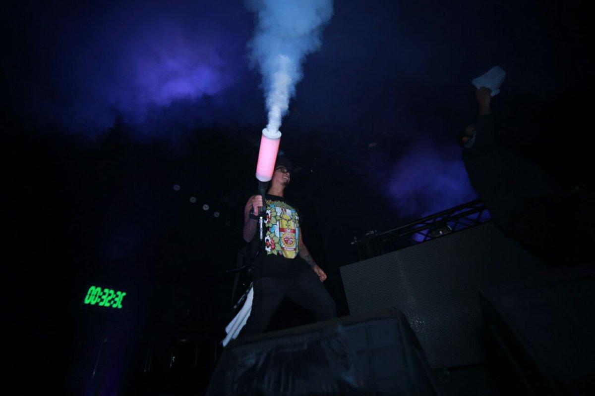 Impresionante el show de El Freaky Colectivo en El Viva 40