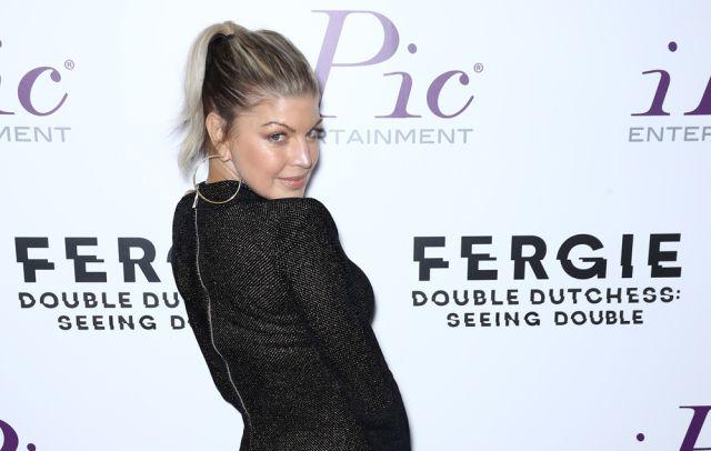 Fergie se 'echó a llorar' en su primer día de trabajo después de dar a luz