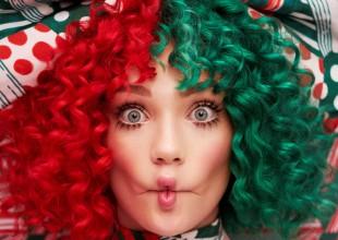 La cantante australiano presenta su nuevo trabajo discográfico, es su octavo álbum y primero con temática navideña.