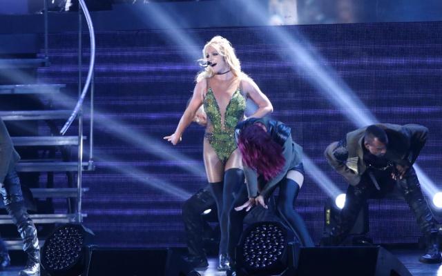 """Britney Spears se despide de su show """"Piece of me"""" a finales de año."""