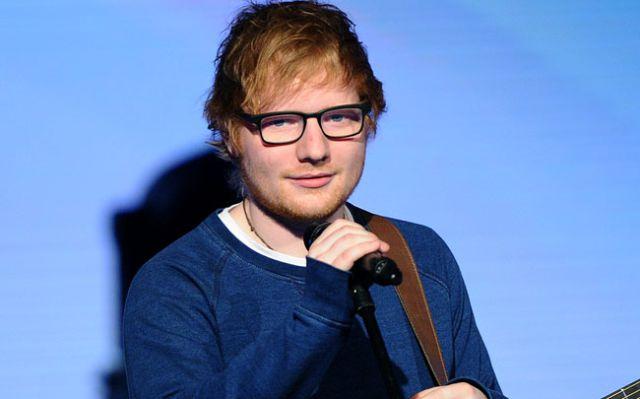 Así es como Ed Sheeran apoya a los niños con cáncer