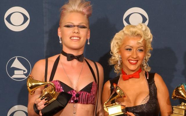 Pink habló sobre su nueva colaboración con Christina Aguilera.
