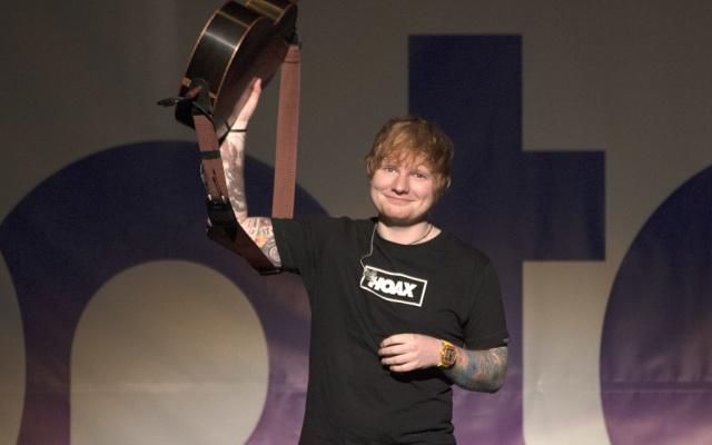 Ed sheeran es el rey de las reproducciones en Spotify